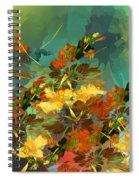 Botanical Fantasy 090914 Spiral Notebook