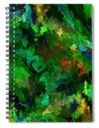 Botanical Fantasy 110413 Spiral Notebook