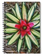 Botanical Flower Spiral Notebook