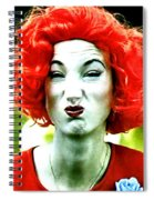 Both Eyes Blinking Means Trouble Higher Up Spiral Notebook