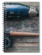 Bottle And Rod I Spiral Notebook