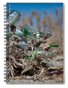 Bottle Bush Spiral Notebook