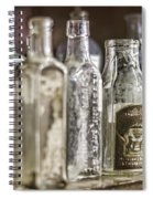 Bottle Collection Spiral Notebook