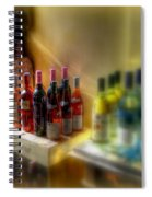 Bottle Of Wine Spiral Notebook