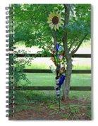Bottle Tree Spiral Notebook