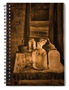 Bottled Up Spiral Notebook