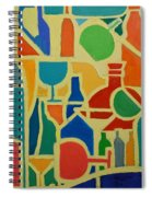 Bottles And Glasses 2 Spiral Notebook