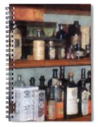 Bottles In General Store Spiral Notebook