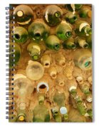 Bottles In The Wall Spiral Notebook