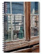 Bottles In The Window Spiral Notebook