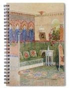 Boudoir, From A Villa In Helsinki Spiral Notebook