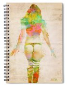 Boudoir Sonata Spiral Notebook