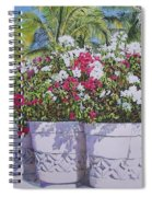Bougainvillea Spiral Notebook