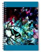 Bougainvillea Moon Spiral Notebook