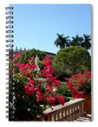 Bougainvillea Row Spiral Notebook