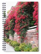 Bougainvillea Wall In San Francisco Spiral Notebook