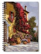 Bouganville Spiral Notebook