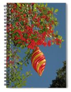 Boughs Of Holly Spiral Notebook