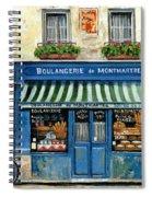 Boulangerie De Montmartre Spiral Notebook