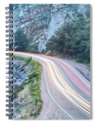 Boulder Canyon Drive And Commute Spiral Notebook