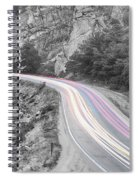 Boulder Canyon Drive And Selective Commute  Spiral Notebook
