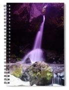 Boulder Cave Falls  Spiral Notebook