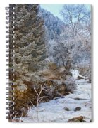 Boulder Creek Winter Wonderland Spiral Notebook