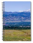 Boulder In The Summertime Spiral Notebook