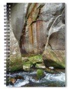 Boulders By The River 2 Spiral Notebook