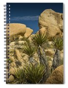 Boulders In The Joshua Tree National Park Spiral Notebook
