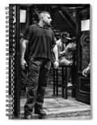 Bouncer Spiral Notebook