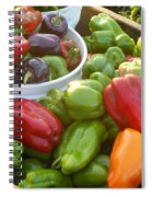 Bountiful Peppers Spiral Notebook
