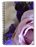 Roses And Violets  Spiral Notebook