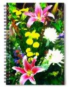 Bouquet Bounty Spiral Notebook