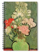 Bouquet Of Flowers Spiral Notebook