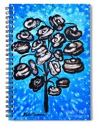 Bouquet Of White Poppies Spiral Notebook