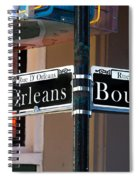 Bourbon And Orleans Spiral Notebook