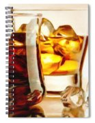 Bourbon - Large Size Painting Spiral Notebook