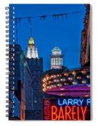 Bourbon Street And Cbd Lights  Spiral Notebook