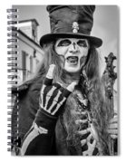 Bourbon Street Denizon Bw Spiral Notebook