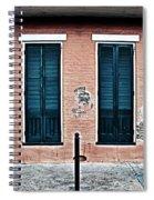 Bourbon Street Doors Spiral Notebook