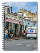 Bourbon Street - Let The Party Begin Spiral Notebook