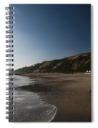 Bournemouth Beach Huts Spiral Notebook