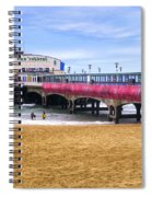 Bournemouth Pier Spiral Notebook