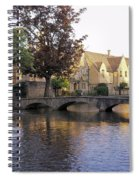 Bourton On The Water 5 Spiral Notebook