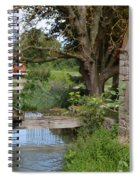 Bouy By Canal Spiral Notebook