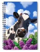 Bovinity Spiral Notebook