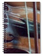 Bow And Strings Spiral Notebook