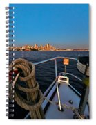 Bow And The Needle Spiral Notebook