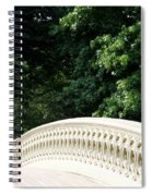 Bow Bridge Curve Nyc Spiral Notebook